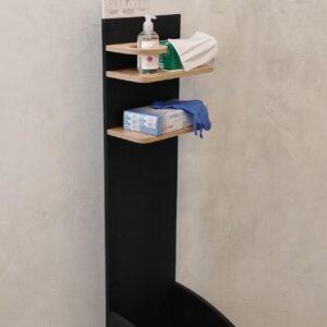 Dispenser in legno testa di moro