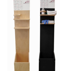 Dispenser in legno